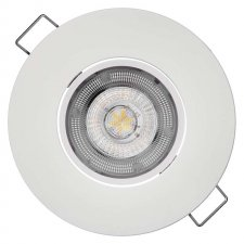 LED bodové svietidlo biele Exclusive 5W teplá biela