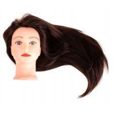 Česacia hlava s prírodnými vlasmi