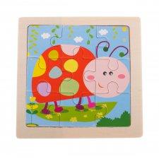 Detské puzzle: Lienka - 9ks