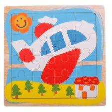 Detské puzzle: Lietadlo - 16ks