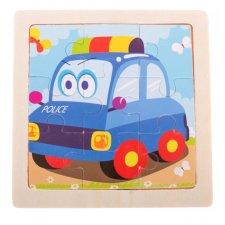 Detské puzzle: Polícia - 9ks