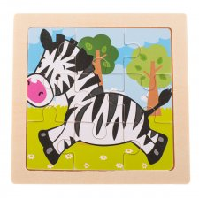 Detské puzzle: Zebra - 9ks