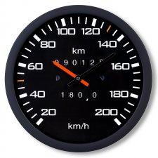 Hodiny - Tachometer