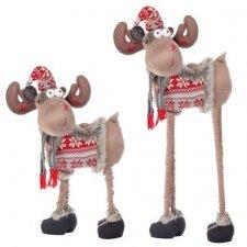 Springos Vianočný sob 72-100 cm