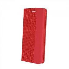 Knižkové puzdro Flip pre Apple iPhone 7 / iPhone 8 / iphone 9 / iPhone Se 2020 Smart  Senso Tmavo Červené