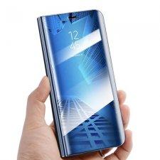 Knižkové puzdro Flip pre Huawei Y7 2019 Smart Clear View Modré