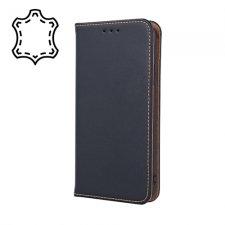 Knižkové puzdro Flip pre Samsung Galaxy S10 Lite / A91 Pravá Koža Čierne