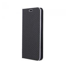 Knižkové puzdro Smart Venus Carbon Samsung Galaxy A41 Čierne