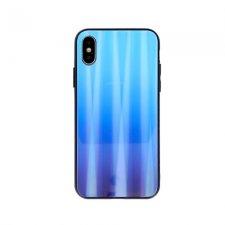 Kryt Aurora Glass na Samsung Galaxy A10 Modrý