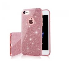 Kryt na Apple iPhone 11 Pro Max Glitter 3in1 Ružový