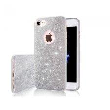 Kryt na Apple iPhone 11 Pro Max Glitter 3in1 Strieborný
