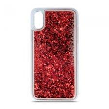 Kryt na Apple iPhone 11 Pro Max   Liquid Sparkle červený