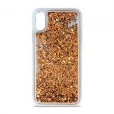Kryt na Apple iPhone 11 Pro Max   Liquid Sparkle Zlatý