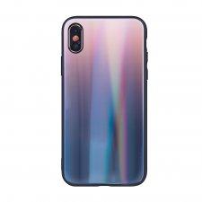 Kryt na Apple iPhone 7 / iPhone 8 / iphone 9 / iPhone Se 2020 Aurora Glass Hnedo Čierny