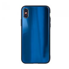 Kryt na Apple iPhone 7 Plus / iPhone 8 PlusAurora Glass Tmavo Modrý