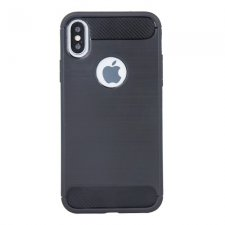 Kryt na Huawei  Honor 7S TPU Simple Black Čierny