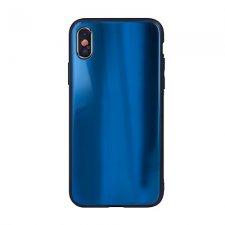 Kryt na Huawei P Smart 2019 / Honor 10 Lite Aurora Glass Tmavo Modrý