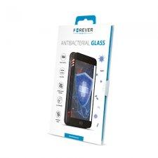 Ochranné sklo s bielym rámom pre Apple iPhone 7 PLUS / iPhone 8 PLUS / Forever 9H