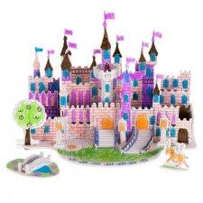 3D puzzle na vymaľovanie: Zámok – 38 prvkov