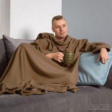 Deka s rukávmi – Cappuccino