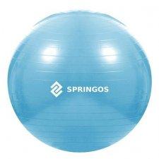 Fitness lopta - 55cm - modrá