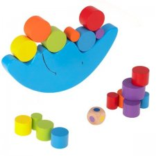 Hračka Montessori balansujúci mesiac