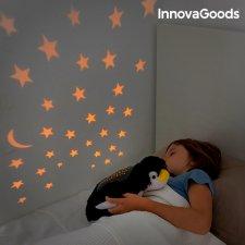 InnovaGoods Plyšový projektor nočnej oblohy Penguin
