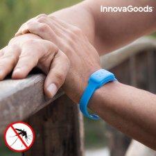 InnovaGoods Repelentný Náramok s vôňou Citronely - modrý