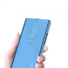 Knižkove Puzdro Flip pre Xiaomi Redmi Note 7 Smart Clear View Modré