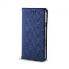 Knižkové puzdro Flip pre Xiaomi Redmi Note 8T Smart Magnetic Modrý Štrukturovaný Povrch