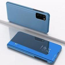 Knižkové puzdro Smart Clear View pre  LG K51S / K41S Modré