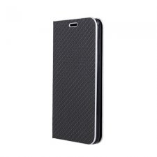 Knižkové puzdro Smart Venus Carbon na Samsung Galaxy A50 / A50S Čierne
