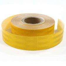 Kontúrovacia reflexná páska - 0,05x45,7m – žltá