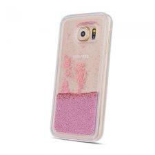 Kryt na Samsung Galaxy S20 TPU Liquid Sparkle Pearl Zlatá Ruža