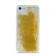 Kryt na Samsung Galaxy S20 TPU Liquid Sparkle Pearl Zlatý