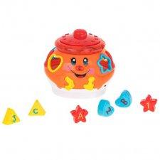 Kúzelný hrací hrniec - oranžový