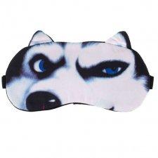 Maska na spanie: Vlk