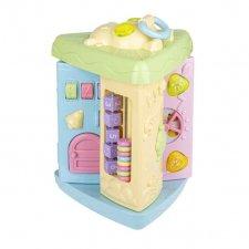 Multifunkčná vzdelávacia hračka pre deti - 3 rotujúce steny