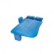 Nafukovací matrac do auta modrý 130x80cm