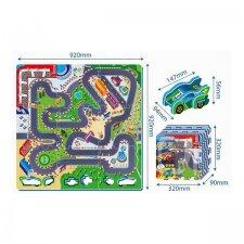Penové puzzle: Závodná trať