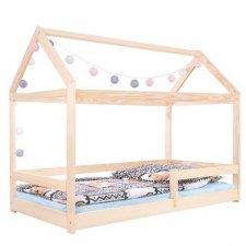 Detská domčeková posteľ drevená 160x80cm