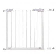 SPRINGOS Bezpečnostná bariérová zábrana pre schody a dvere - biela - 77-92 cm