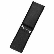 SPRINGOS Fitness guma na cvičenie Hip Band - L - 2x43 cm - čierna