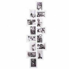 SPRINGOS Fotorámik na 14 fotografií multiframe 10x15 - biely