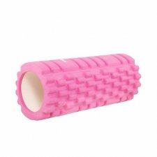 SPRINGOS Masážny valec CROSSFIT FOAM ROLLER 33 x 14 cm - ružový