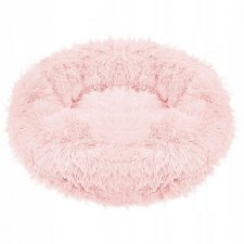 SPRINGOS Pelech pre psa a mačky plyšový 100cm - ružový