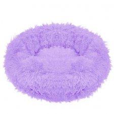SPRINGOS Pelech pre psa a mačky plyšový 50cm - fialová