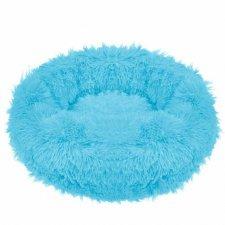 SPRINGOS Pelech pre psa a mačky plyšový 50cm - modrý