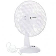 SPRINGOS Stolný ventilátor - 34 cm - 35W - biely