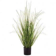 Umelá tráva v črepníku 90 cm